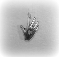 "Heart ""In Hand"" Charm"