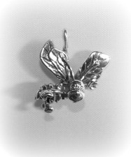 "Bee ""Wings Up"" Charm"