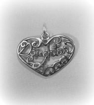 "Daughter ""Filigree"" Charm"