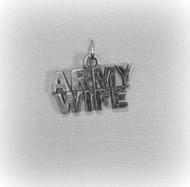 Army Wife Charm