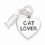 Cat Lover Charm