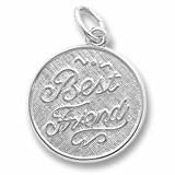 "Best Friend ""Rembrandt"" Charm"