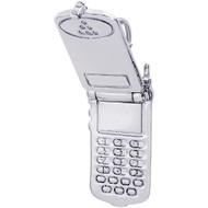 "Flip Phone ""Rembrandt"" Charm"