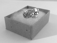 Flower Sterling Silver Ring