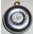 River Sinker (Brass Eye) 1oz - 4oz