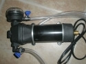 Super Transfer Pump with adjustable flow rate of 1 to 3 Gallons per minute