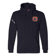Mens Hoody Navy - GHFD Bulldog Logo on Left Chest