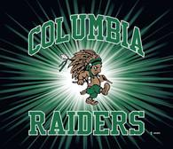 Columbia Raiders Guy Blanket