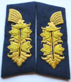 WW2 German Konteradmiral through Generaladmiral of Coastal Artillery Collar Tab's