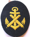 "WW2 German Navy Noncommissioned Officers ""Feuerwerker Maat"" Sleeve Patch with Tag (92208415)"