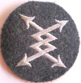WW2 German Luftwaffe Telephone Exchange Operators sleeve Patch (921F07342)