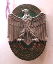 WW2 German National Association of Small Gardeners Badge.
