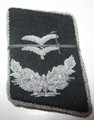 WW2 German Luftwaffe RLM 1st Lieutenants Collar Tabs, Pair
