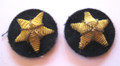 "WW2 German Navy Officers Bullion ""Seestern"" Cuff Sleeve Insignia, Pair"