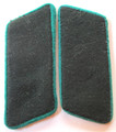 "WW2 German SS Schutzmannschaft or Auxiliary Police EM Collar Tabs, Pair. The Schutzmannschaft or Auxiliary Police (literally: ""protection team""; plural: Schutzmannschaften, abbreviated as Schuma) was the auxiliary police of native policemen serving in those areas of Eastern Europe occupied by Germany during World War II."