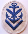 WW2 German Navy Clerical (Schreibobermaat) PO Career Sleeve Rating Patch