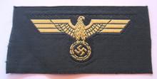 WW2 German Navy BeVo Coast Artillery Overseas Cap Eagle, Unissued