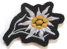 WW2 Waffen SS Cap Edelweiss, Cloth
