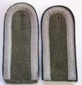 WW2 RAD Reichsarbeitsdienst NCO Shoulder Straps, Mismatched Pair