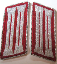 WW2 German Gemeindenpolizei Municipal Police Enlisted BeVo Collar Tabs, Pair