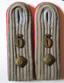 WW2 German Army Panzer Artillery Officers Shoulder boards, Pair