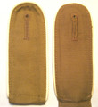 WW2 Luftwaffe Hermann Göring Division Tropical Shoulder Straps, Pair. Front and back shown.