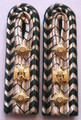 WW2 German Zollverwaltung Zollsekretar Shoulder Boards, Occupied Territories, Pair