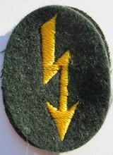 WW2 German Army Cavalry Radio Telephone Operator Sleeve Patch