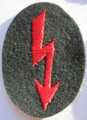 WW2 German Army Artillery Radio Telephone Operators Sleeve Patch