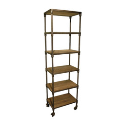 Metal Pipe Bookcase