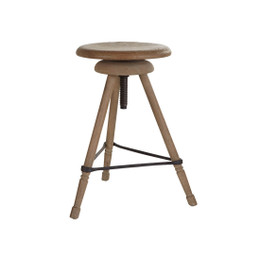 wood swivel bar stool