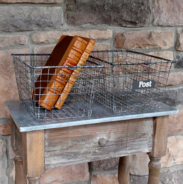 Wire Baskets (set of six)