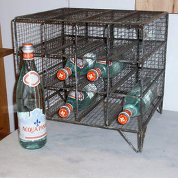 Metal Wire Bottle Rack