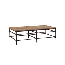 rectangle elm coffee table