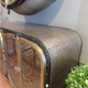 steampunk console table