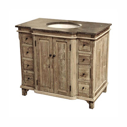 Single Bath Vanity (38wide) Click for video
