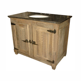 Single Bath Vanity (42wide) Click for video
