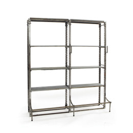 industrial library shelf