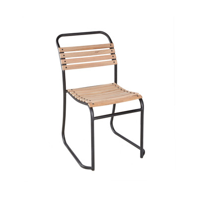 Outdoor Wood Slat Chair
