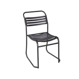 Outdoor Rubber Slat Chair