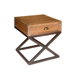 cross bar side table
