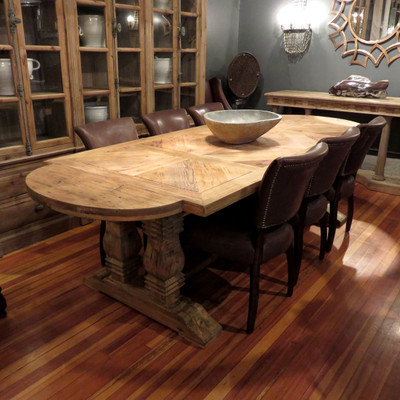 Double Baluster Dining Table
