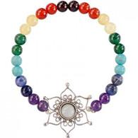 Lotus Flower Chakra Stretch Bracelet