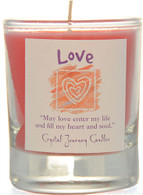 """Love"" Aromatherapy Candle"