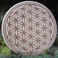 Flower of Life Sacred Geometry Crystal Grid