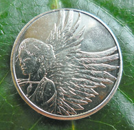 """Protected by Angels"" Coin"