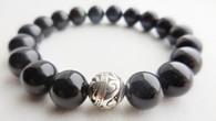 Rainbow Obsidian Wrist Mala Bracelet