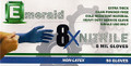 Emerald 8x Nitrile Gloves - Large