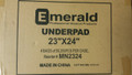 Emerald's incontinence underpads are sealed on all sides to prevent leakage and protect beds, chairs, and other surfaces. Highly absorbent and waterproof, our disposable pads feature non-skid backing for efficient placement.