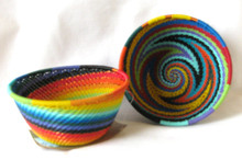 Fair Trade Telephone Wire Woven Small Bowl from South Africa